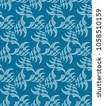 abstract seamless pattern with... | Shutterstock .eps vector #1058510159