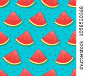 seamless pattern with... | Shutterstock .eps vector #1058520368