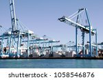 algeciras  spain   march 16 ... | Shutterstock . vector #1058546876