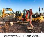strensham motorway services  m5 ... | Shutterstock . vector #1058579480