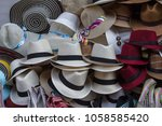 A Selection Of Hats On Sale To...