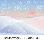 an illustration of a cold... | Shutterstock . vector #105868133