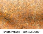 background texture of rusted... | Shutterstock . vector #1058682089