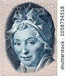 Small photo of Pauline Maria Tutein portrait from Danish money
