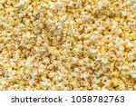 Popcorn Texture Background....