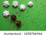 candy party. cake pops.... | Shutterstock . vector #1058786966