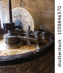 Small photo of walnut oil mill in the french alps