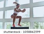 always in good shape. modern... | Shutterstock . vector #1058862599