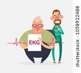 cardiovascular disease...   Shutterstock .eps vector #1058922488