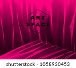 vector surreal illusion art for ... | Shutterstock .eps vector #1058930453