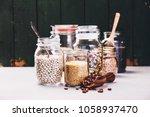 balanced diet  cooking ... | Shutterstock . vector #1058937470