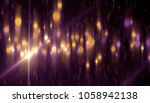 abstract pink bokeh circles on... | Shutterstock . vector #1058942138