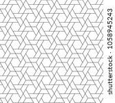 geometric pattern. minimal... | Shutterstock .eps vector #1058945243