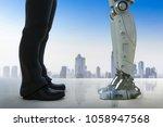 3d rendering businessman... | Shutterstock . vector #1058947568