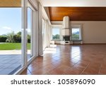 interior home view of room with ... | Shutterstock . vector #105896090