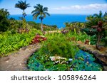 the garden of eden in maui ... | Shutterstock . vector #105896264