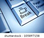 Keyboard With Coffee Break...