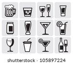 icon beverage | Shutterstock .eps vector #105897224