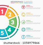 infographics element abstract... | Shutterstock .eps vector #1058979866