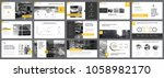 yellow  white and black... | Shutterstock .eps vector #1058982170