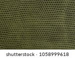 green artificial leather of... | Shutterstock . vector #1058999618