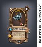 card of fantasy battle hammer...