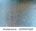 Falling Water On Glass Wall  ...