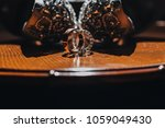 wedding rings of bride and... | Shutterstock . vector #1059049430