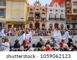 procession of the glory during... | Shutterstock . vector #1059062123