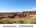 Painted Desert In Petrified...