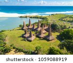 aerial view of traditional... | Shutterstock . vector #1059088919
