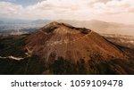 vesuvius volcano from the air | Shutterstock . vector #1059109478