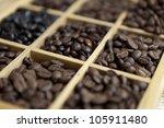 tasting coffee. arabica coffee  ... | Shutterstock . vector #105911480