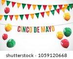 cinco de mayo holiday... | Shutterstock .eps vector #1059120668