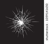 crime busted circle break gray... | Shutterstock .eps vector #1059141650