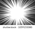 speed line fast motion... | Shutterstock . vector #1059153380
