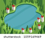 vector illustration in cartoon... | Shutterstock .eps vector #1059169469