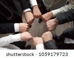 business team or partners put... | Shutterstock . vector #1059179723