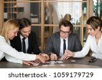 business people group... | Shutterstock . vector #1059179729