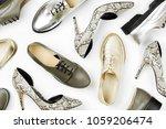 stylish female spring or autumn ...   Shutterstock . vector #1059206474