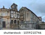 gothic church facade of saint... | Shutterstock . vector #1059210746