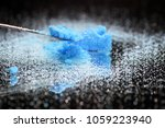 chemical powder from the...   Shutterstock . vector #1059223940