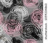 abstract seamless vector... | Shutterstock .eps vector #1059234863