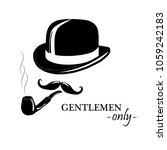 Vintage Gentlemen Elegance Log...