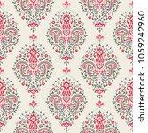seamless paisley pattern | Shutterstock .eps vector #1059242960