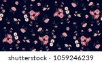 seamless floral pattern in... | Shutterstock .eps vector #1059246239
