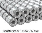set of stainless steel coils.... | Shutterstock . vector #1059247550