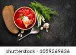 traditional ukrainian russian... | Shutterstock . vector #1059269636