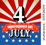 the celebration of the... | Shutterstock .eps vector #105928349