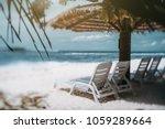 true tilt shift view of several ... | Shutterstock . vector #1059289664